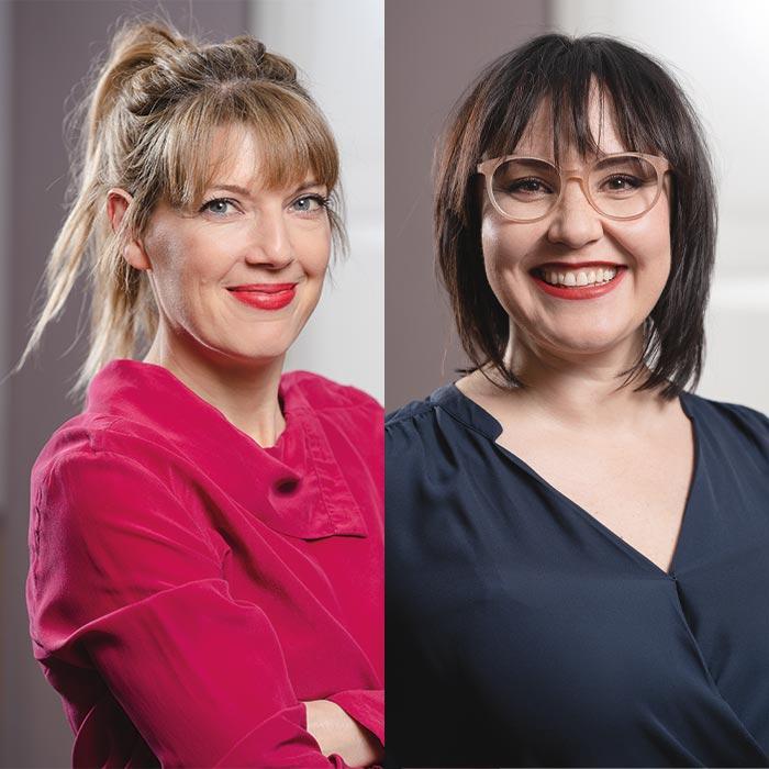 Uschi Steindl & Eva Hieslmayr